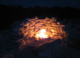 Camp fire sailing expeditions Turks and Caicos Islands